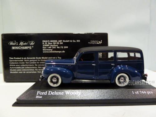 Ford V8 De Luxe Woody Stationwagen